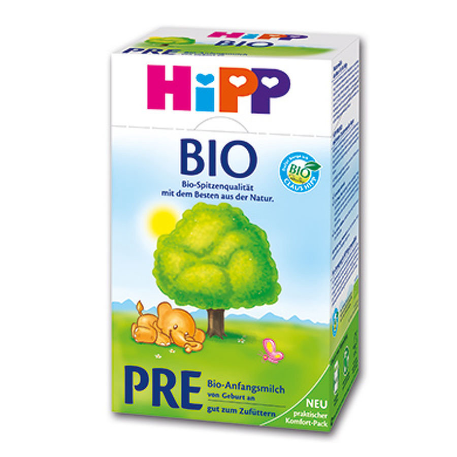 HIPP Bio Pre Infant Formula 12x600g