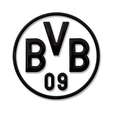 Nálepka na auto BVB, černá