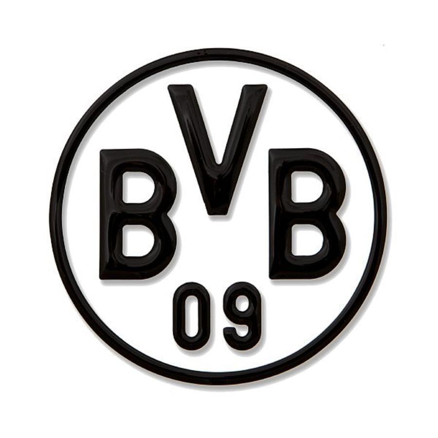 BVB Auto-Bilklistermärken, svart