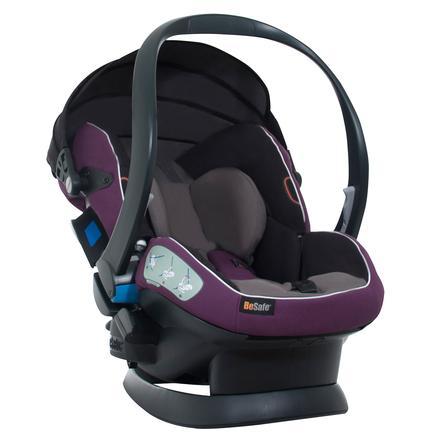 BeSafe Babyskydd iZi Sleep X3 Fresh Purple/Grey