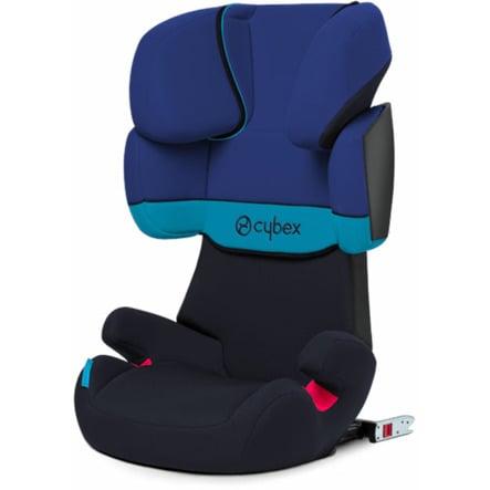cybex SILVER Kindersitz Solution X-fix Blue Moon