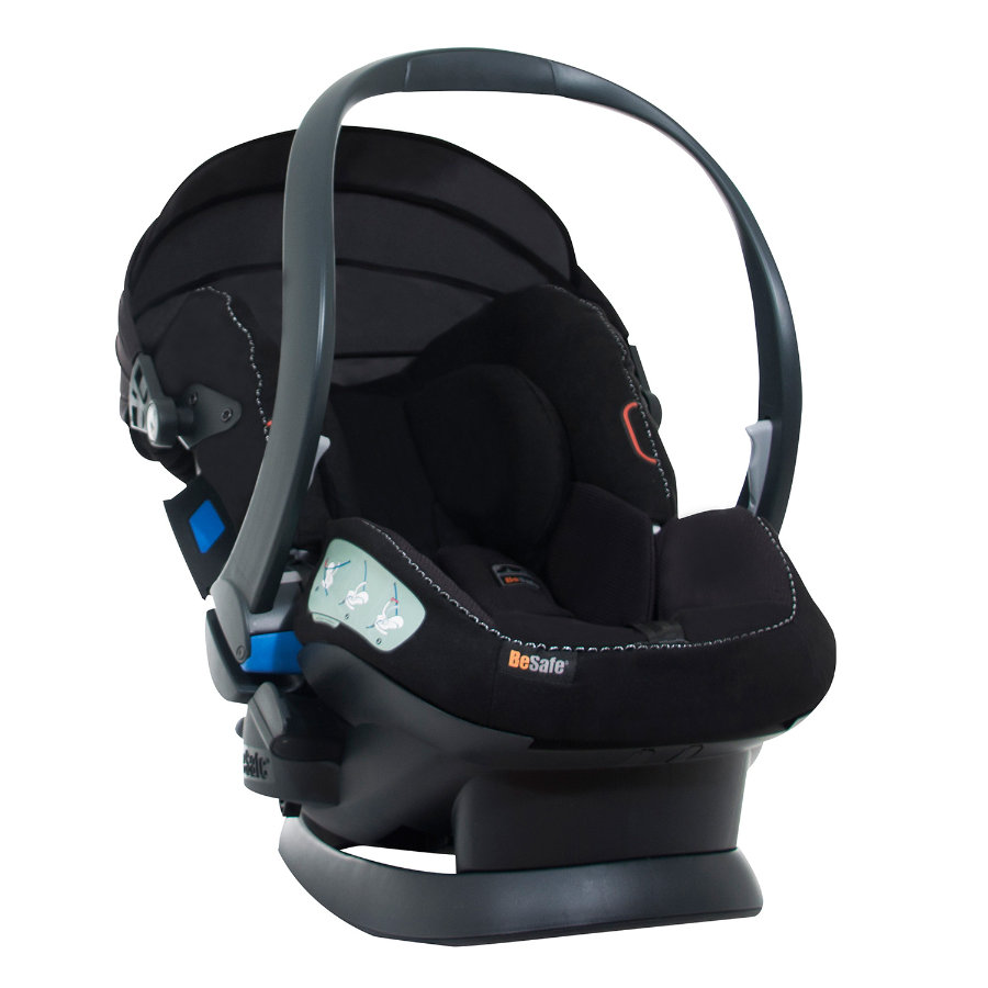 BeSafe Kindersitz iZi Sleep X3 Alkantara Black