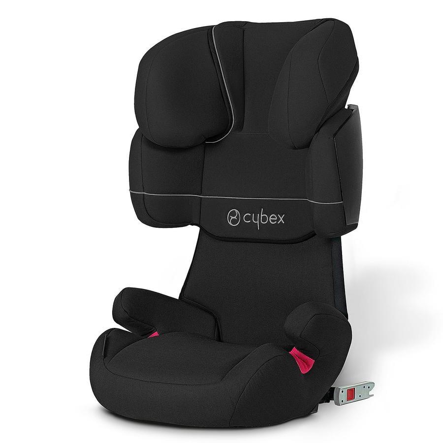 cybex Siège auto Solution X-fix Pure Black-Black, modèle 2014