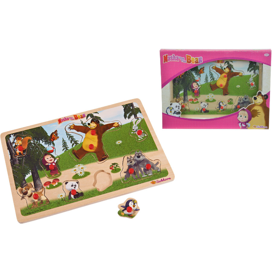 EICHHORN Masha and the Bear - Steckpuzzle
