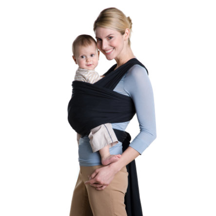 AMAZONAS Baby Carrier Jersey Sling black 510cm