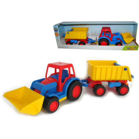 WADER Basics - Traktor med skopa och vagn