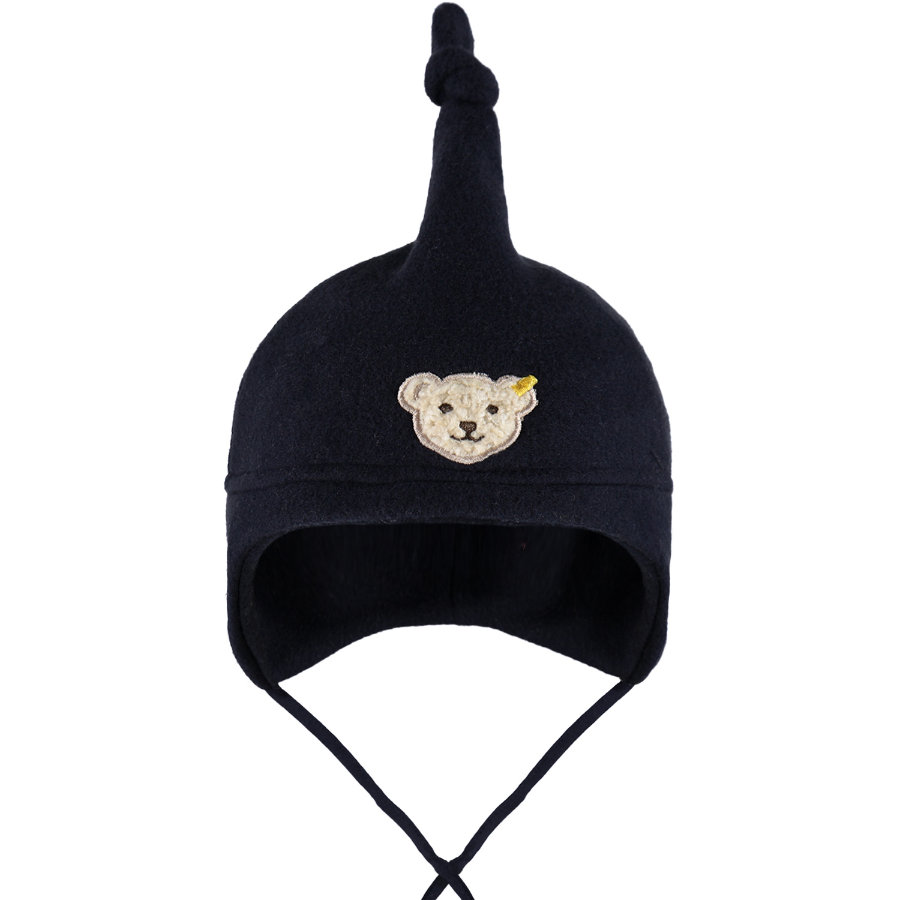 STEIFF Baby Fleece Hat navy