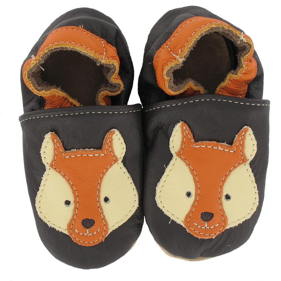 BaBice Kojenecké boty liška hnědé