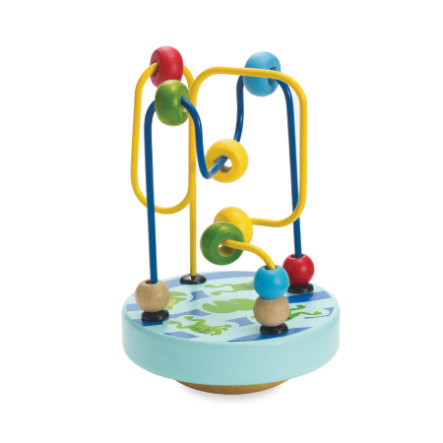 MANHATTAN TOY Baby - Motorikschleife, blau