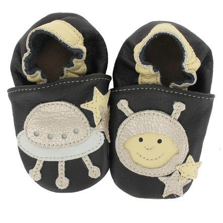 BaBice Kojenecké boty ufo černé
