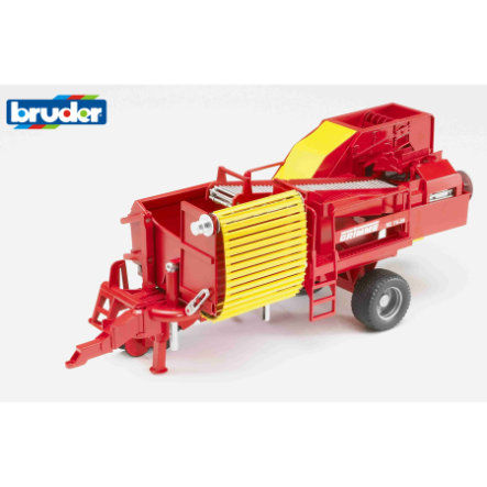 BRUDER® Grimme SE75-30 Potatoe Digger with 80 Imitation Potatoes 02130