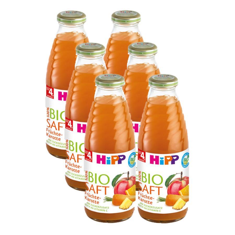 HiPP Bio Saft Früchte-Karotte 6 x 0,5l