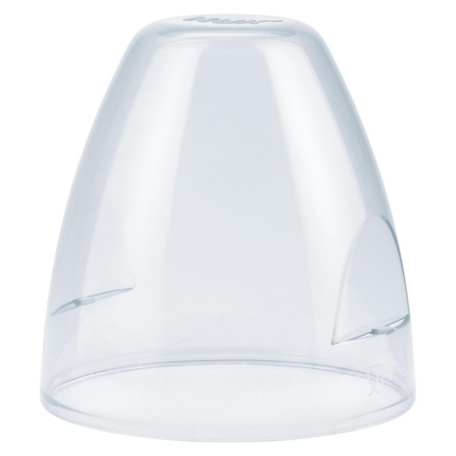 NUK Schutzkappe transparent für First Choice Flasche 4 Stück