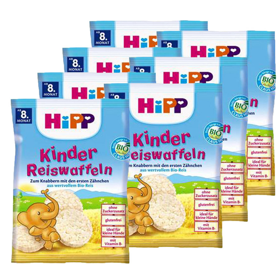 HIPP Bio Rice Cakes 7x40g