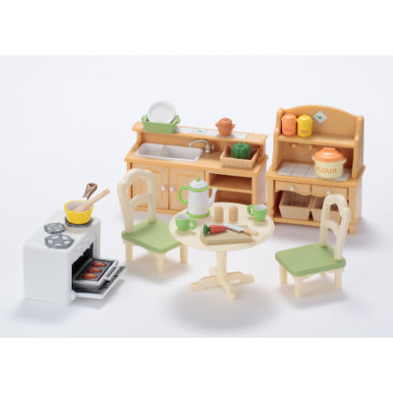 SYLVANIAN FAMILIES Room Sets - Country Kitchen Set
