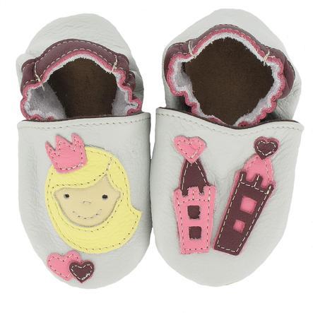 BaBice Kojenecké boty princezna šedé