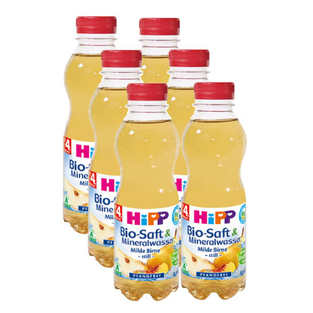 HIPP Bio Tee & Saft Fenchel Tee mit Apfel 6 x 0,5l