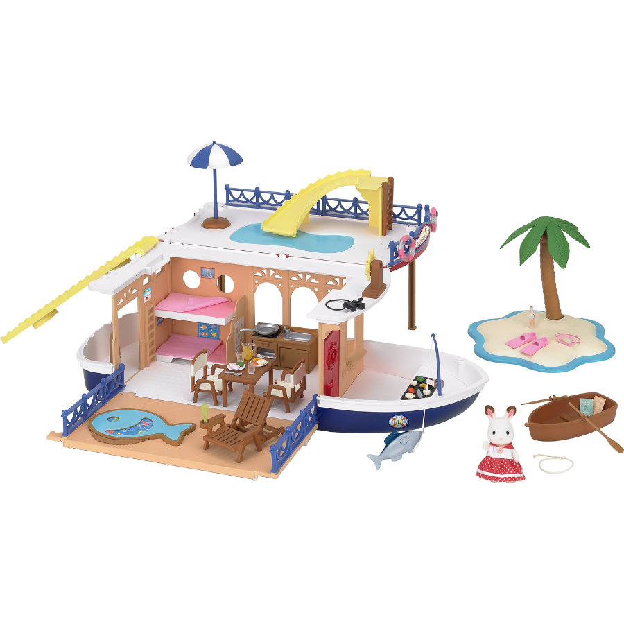 Sylvanian Families® Figurine bateau de croisière 5206