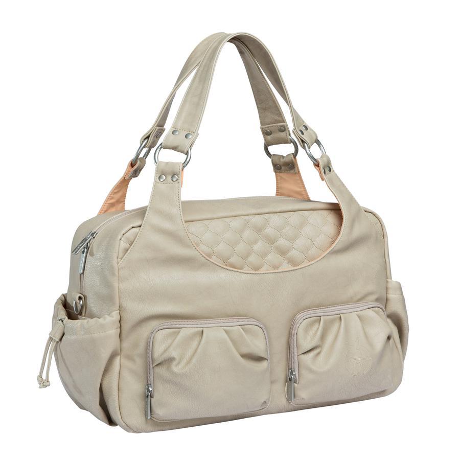 LÄSSIG Nappy Bag Tender Multi Pocket Bag nude