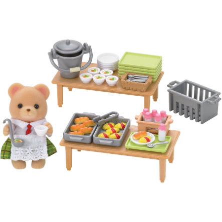 SYLVANIAN FAMILIES School Lunch Set