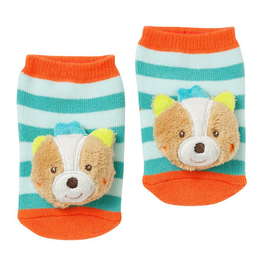 FEHN Chrastící ponožky, liška - Sleeping Forest
