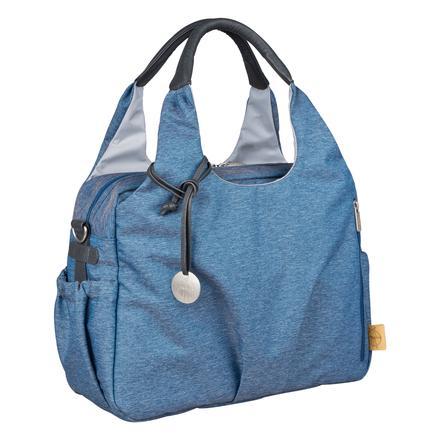 LÄSSIG Sac à langer Green Label Global Bag Ecoya blue