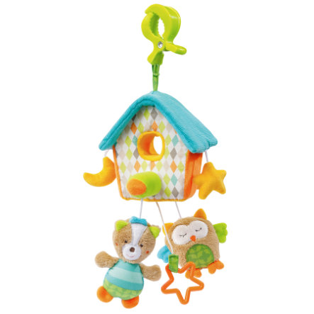 FEHN Carillon Cucù Mini - Sleeping Forest con mollettone