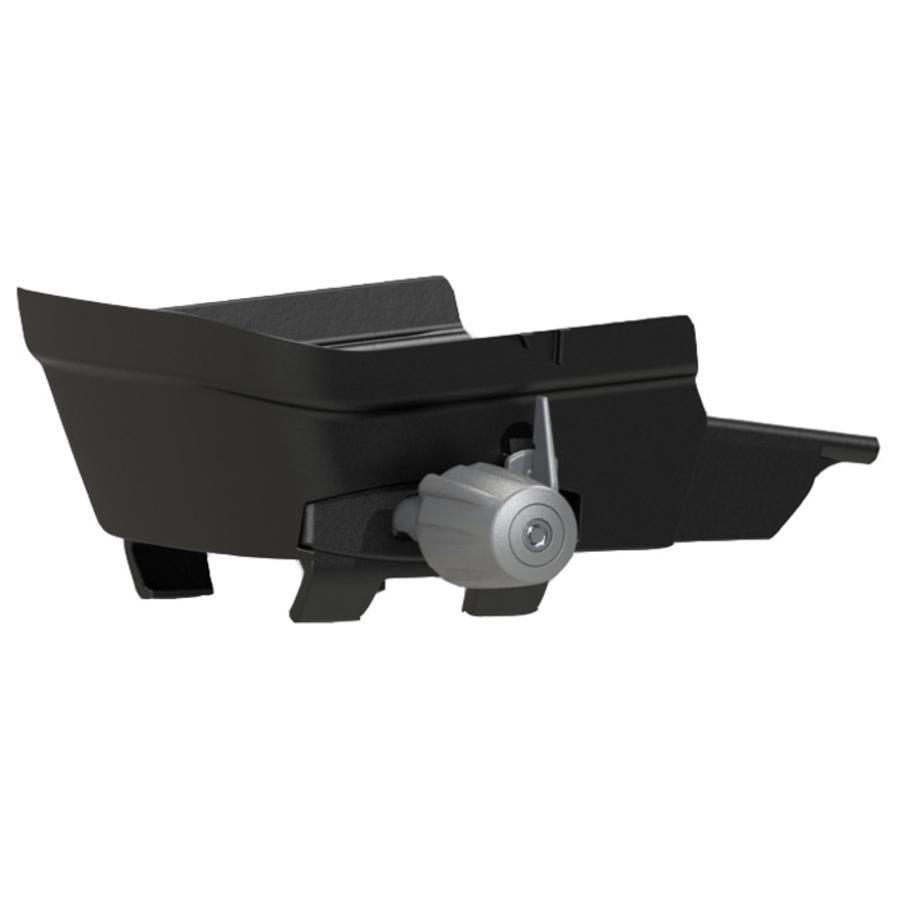hamax Gepäckträgeradapter für Zenith grau