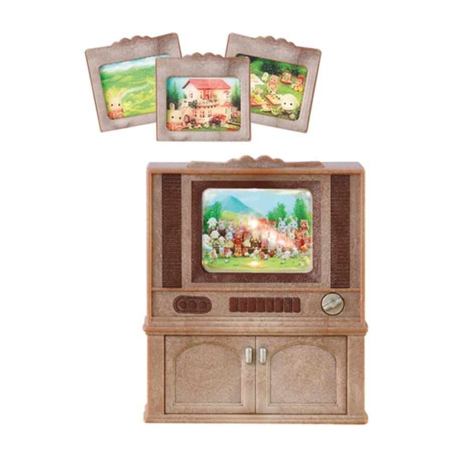 SYLVANIAN FAMILIES Meuble télévision couleur