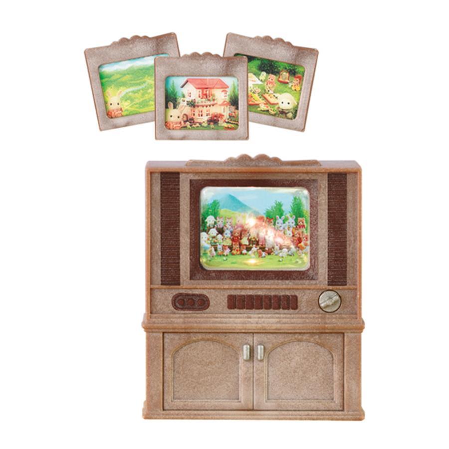 SYLVANIAN FAMILY Nábytek - skřínka s barevnou televizí