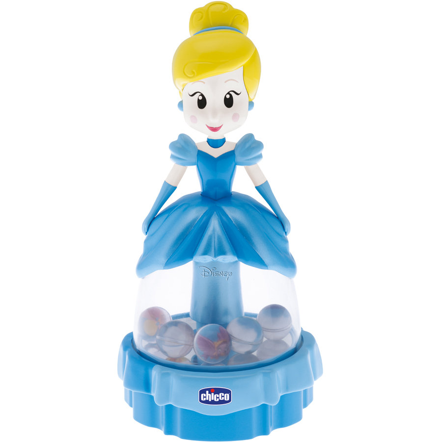 CHICCO Disney Princezny - Popelka, kolotoč