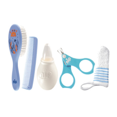 nip Set de cuidados azul Niño