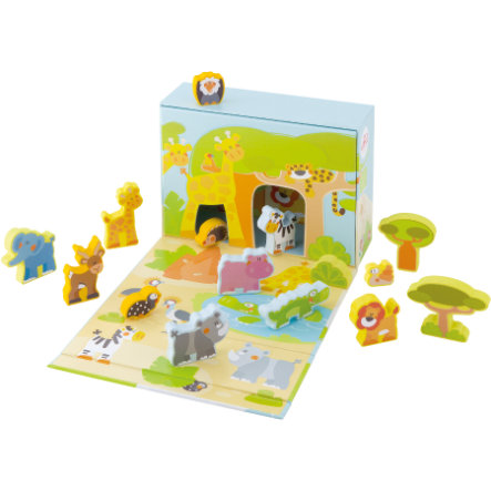 SEVI Spielset Play Case Savanne