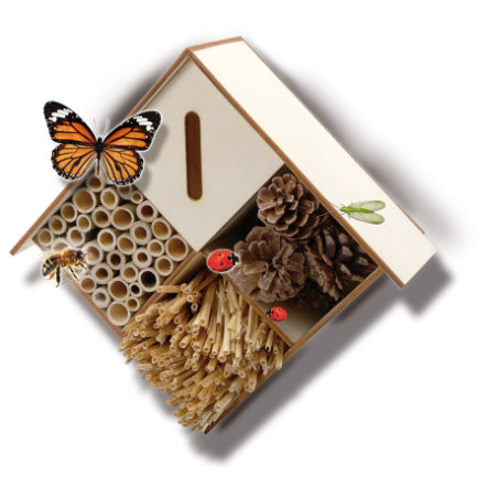 SES Creativ Hôtel e® Explore Insect Hotel