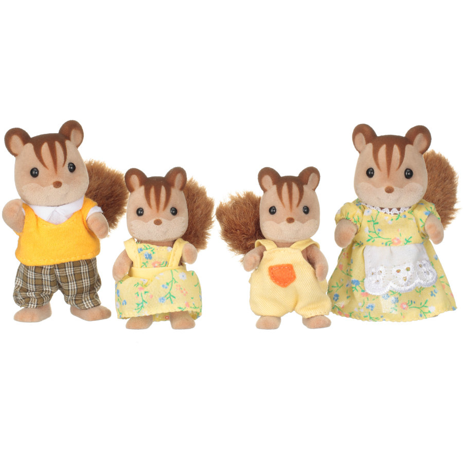 Sylvanian Families® Familien - Walnuss Eichhörnchen Familie Knacks