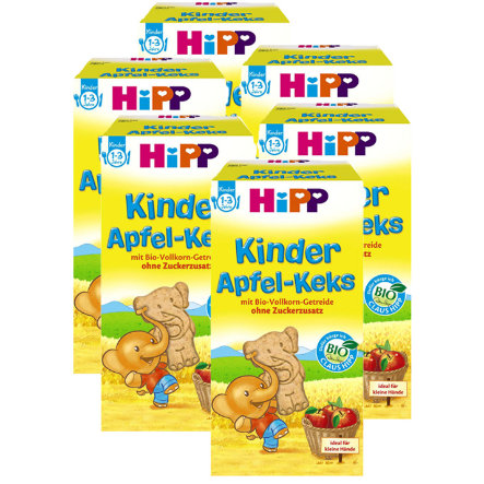 HiPP Children Apple Biscuit 6 x 150g