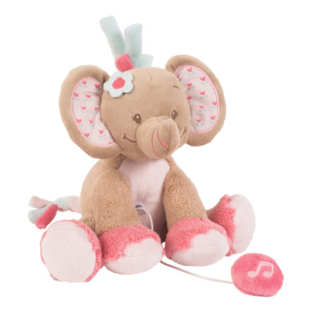 NATTOU Charlotte & Rose - Mini-Spieluhr Rose der Elefant