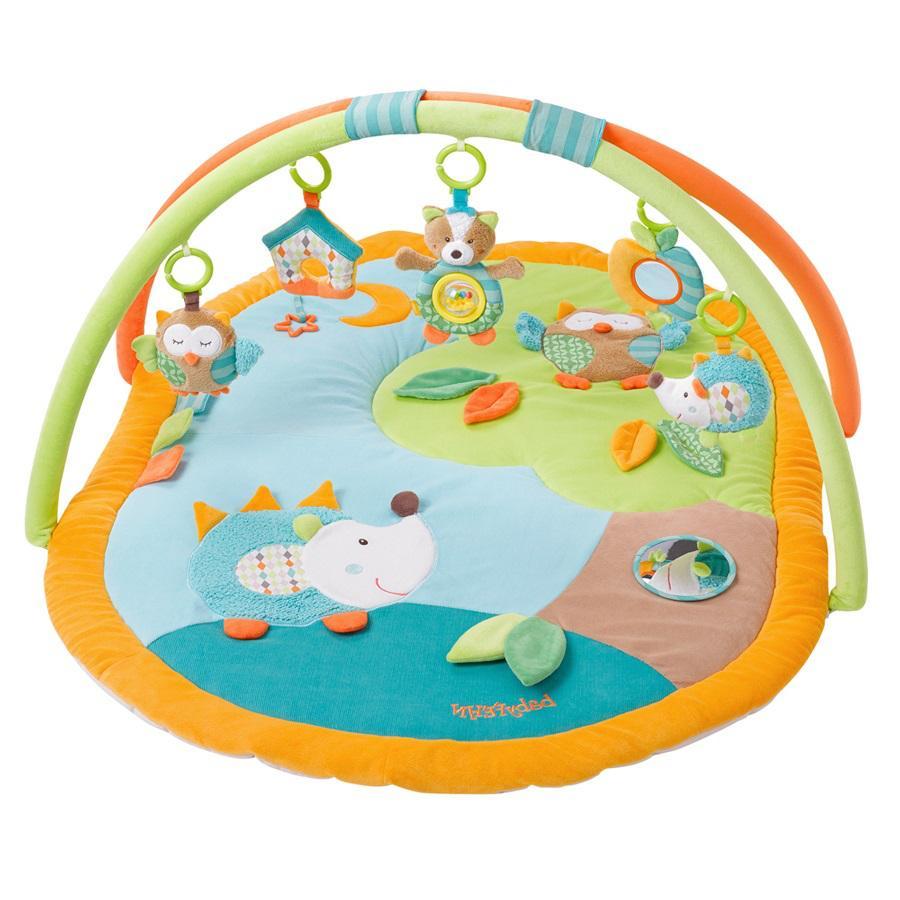 FEHN 3D-leikkimatto lelukaarella Sleeping Forest