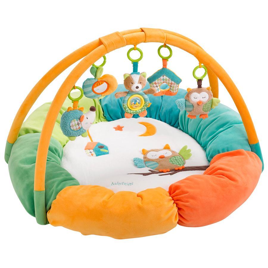 babyFEHN Aktivitetsteppe, Sleeping Forest med kant  3-D