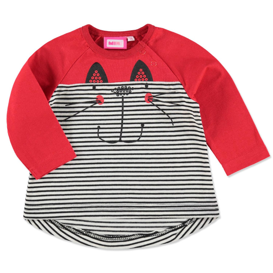 MAX COLLECTIONl Langarmshirt CAT rot