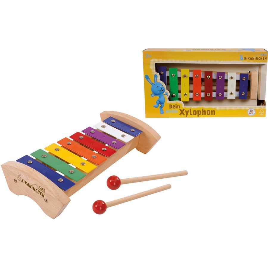 EICHHORN Zajíček Kika, dřevěný xylofon