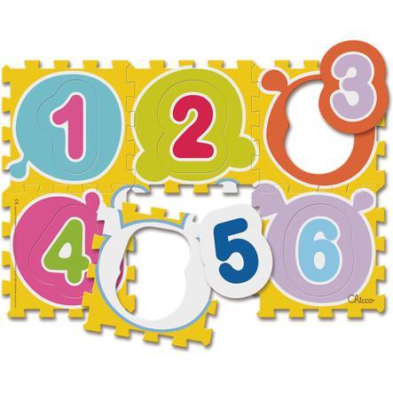 CHICCO Tapis puzzle Chiffres 6 pièces