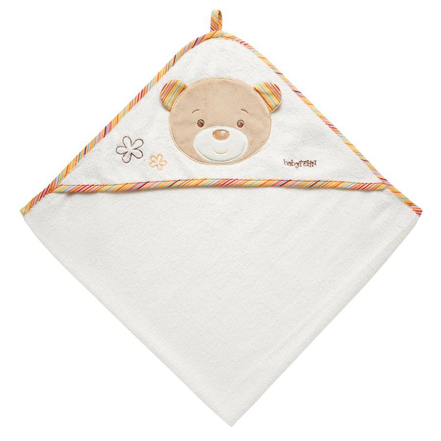 FEHN Asciugamano con cappuccio Teddy - Rainbow