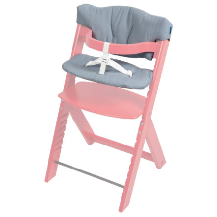 FILLIKID Potah na jídelní židličku Max šedý