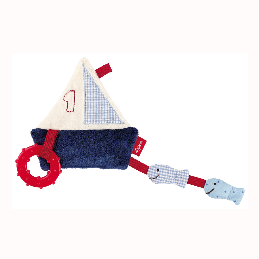 SIGIKID Knistertuch Boot - Toy Ahoi