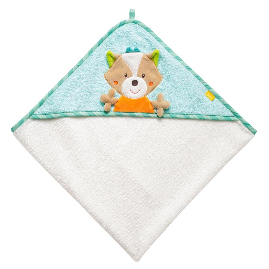 FEHN Håndklæde med hue Ræv- Sleeping Forest