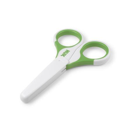 NUK Dětské nůžky na nehty, zelené