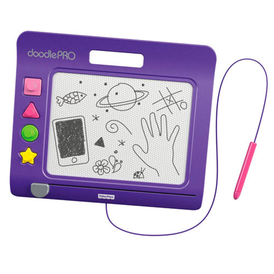FISHER PRICE Kreslící tabulka Doodle Pro Slim – fialová