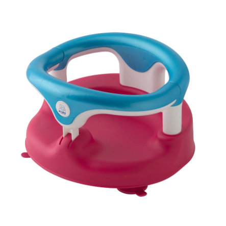 Rotho babydesign badesæde raspberry aquamarin hvid