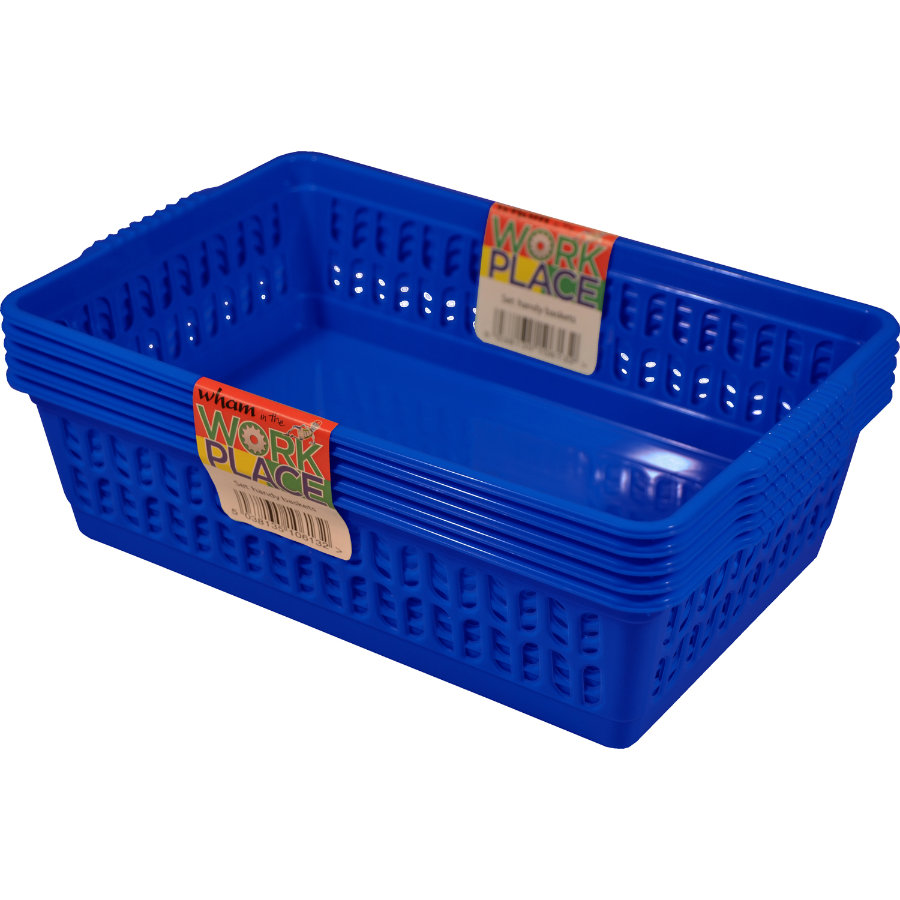 WHAM Allzweckkorb Set (5 St.) Blue